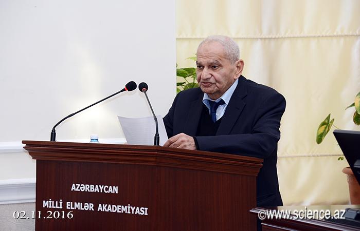 AMEA-nın müxbir üzvü Zakir Məmmədovun 80 illik yubileyi