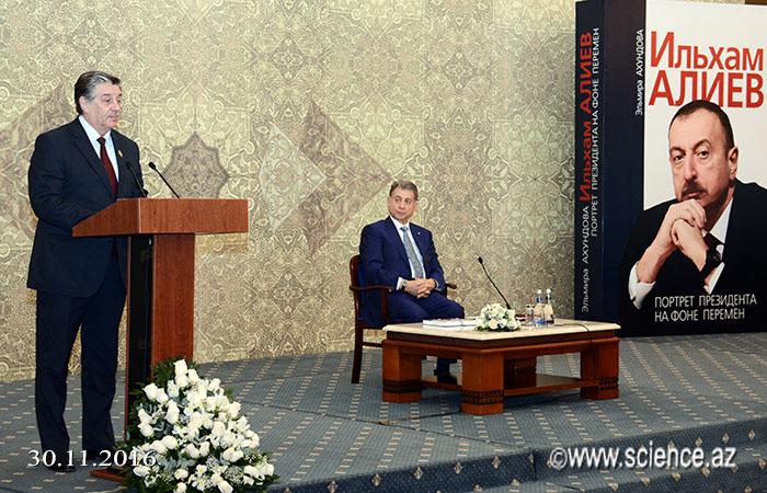 """""""İlham Əliyev. Prezidentin portreti dəyişikliklər fonunda"""" kitabının təqdimat mərasimi keçirildi"""
