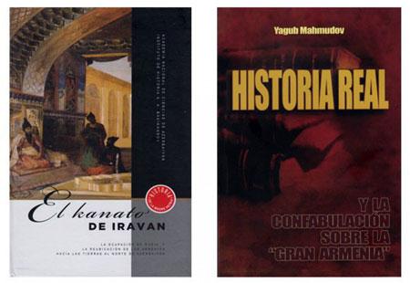 """""""İrəvan xanlığı"""" və """"Böyük Ermənistan"""" uydurması"""" kitabları ispan dilində çap olunub"""