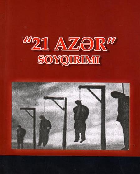 """""""21 Azər"""" soyqırımı"""" adlı kitab çapdan çıxıb"""