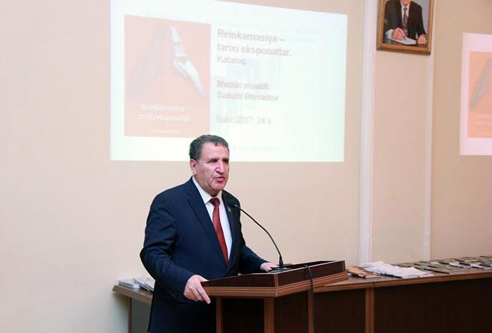 Milli Azərbaycan Tarixi Muzeyinin 2016-cı il üzrə nəşrlərinin təqdimatı keçirilib