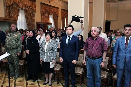 Milli Azərbaycan Tarixi Muzeyində şəhid Elçin Baxşəliyevə həsr olunan anım tədbiri keçirilib