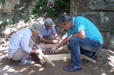Azərbaycan-Yaponiya beynəlxalq arxeoloji ekspedisiyası Avey dağında tədqiqatlar aparır