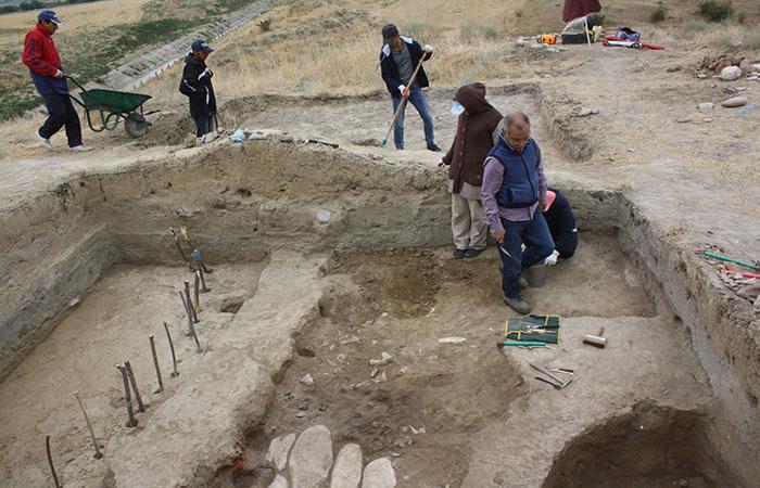 Şabran ərazisindəki ilk tunc və antik dövr abidələrində arxeoloji tədqiqatlar aparılır