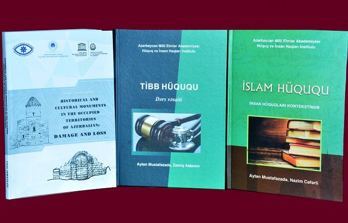 AMEA-nın Hüquq və İnsan Haqları İnstitutunun yeni nəşrləri işıq üzü görüb