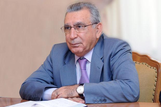 """Akademik Ramiz Mehdiyev Rusiyanın """"Şərəf"""" ordeni ilə təltif edilib"""