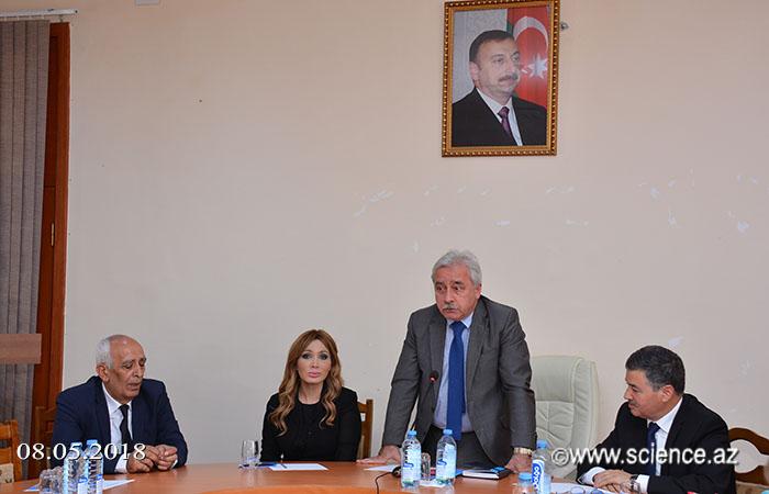 """AMEA-da """"Heydər Əliyev irsi: ənənə və müasirlik"""" mövzusunda elmi konfrans keçirilib"""