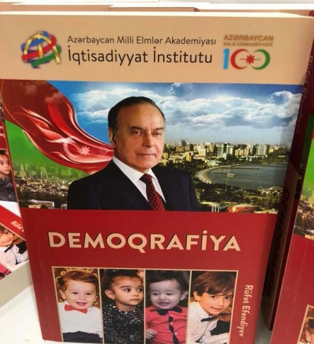"""""""Demoqrafiya"""" adlı dərs vəsaitinin təqdimatı olub"""