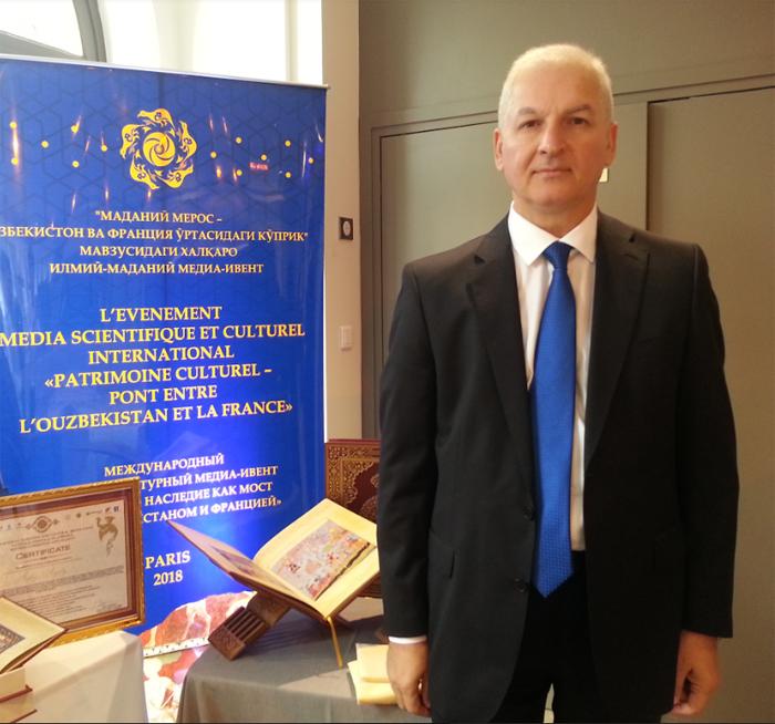Akademik Şahin Mustafayev Parisdə elmi ezamiyyətdə olub