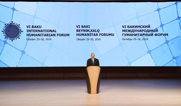 Bakıda VI Beynəlxalq Humanitar Forumu öz işinə başlayıb