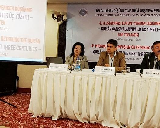 AMEA-nın müxbir üzvü Könül Bünyadzadə Türkiyədə beynəlxalq simpoziumda iştirak edib