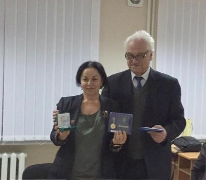 AMEA-nın Elm Tarixi İnstitutunun direktoru Ukrayna Milli Elmlər Akademiyasının 100 illik yubiley medalı ilə təltif olunub