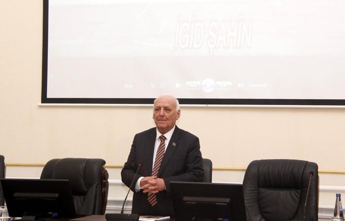 Professor Məzahir Abasovun 100 illik yubileyi AMEA-da qeyd olunub
