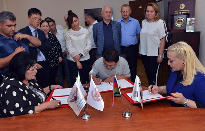 Azərbaycan və Koreya arxeoloqları arasında birgə əməkdaşlıq müqaviləsi imzalanıb
