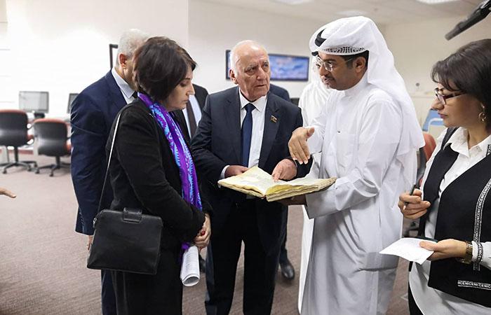 Küveyt Milli Kitabxanasında Tarix İnstitutunun nəşrlərinin təqdimatı keçirilib