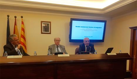 AMEA-nın müxbir üzvü Qorxmaz İmanov İspaniyada beynəlxalq seminarda iştirak edib