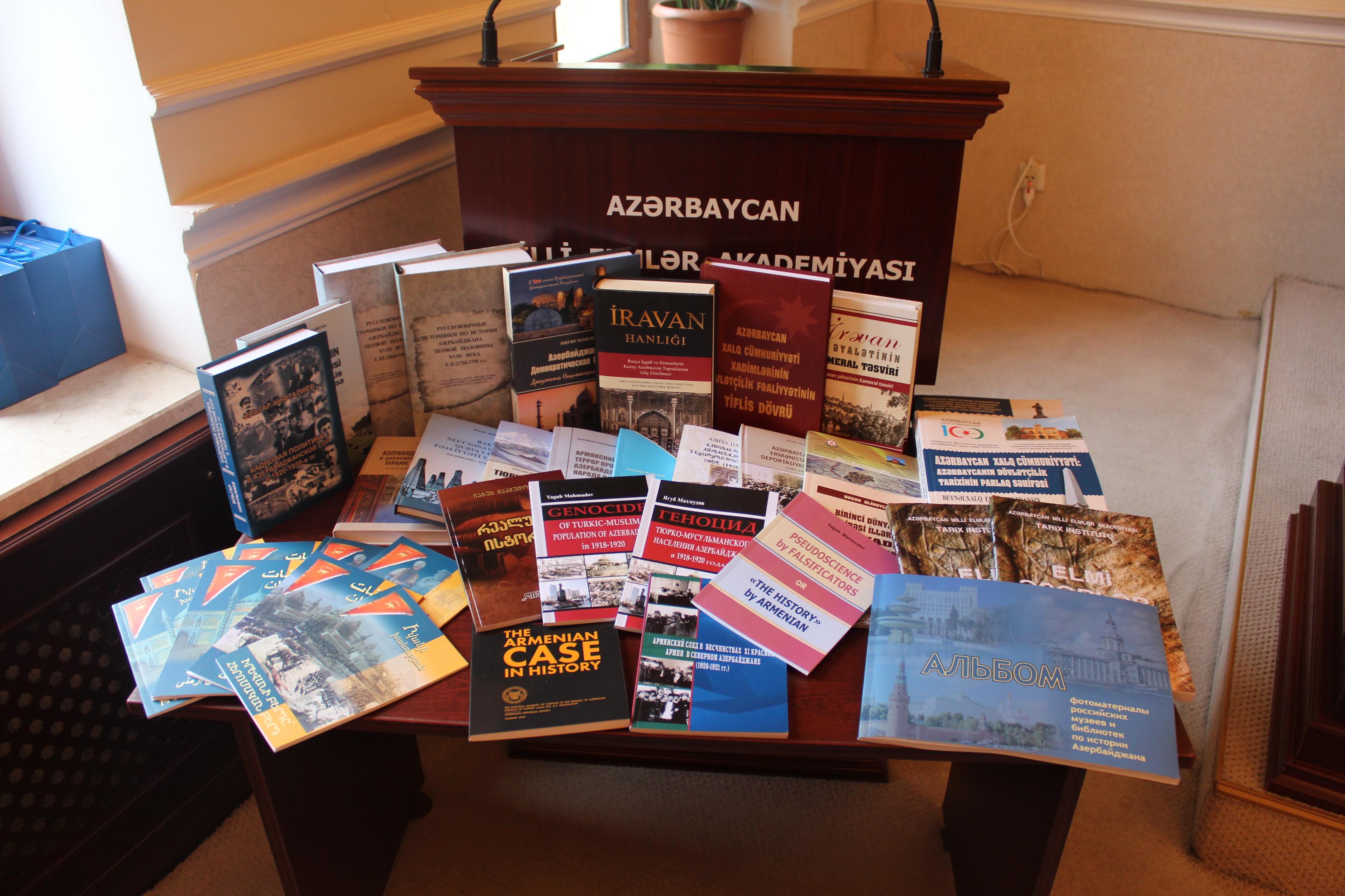 Tarix İnstitutu illik hesabatını təqdim edib
