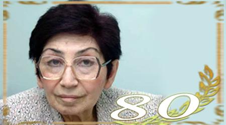 AMEA-nın müxbir üzvü Fəridə Məmmədovanın 80 yaşı tamam olur