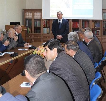 AMEA-nın müxbir üzvü Hacı Qadir Qədirzadənin iki yeni monoqrafiyası təqdim edilib
