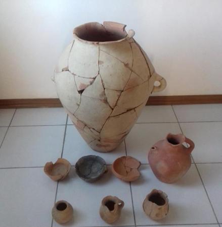 Yevlax rayonunda antik dövrə aid arxeoloji materiallar aşkarlanıb