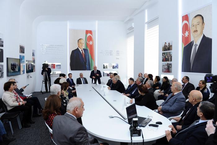 """""""Prezident İlham Əliyev və Azərbaycan tarix elmi"""" mövzusunda elmi konfrans keçirilib"""